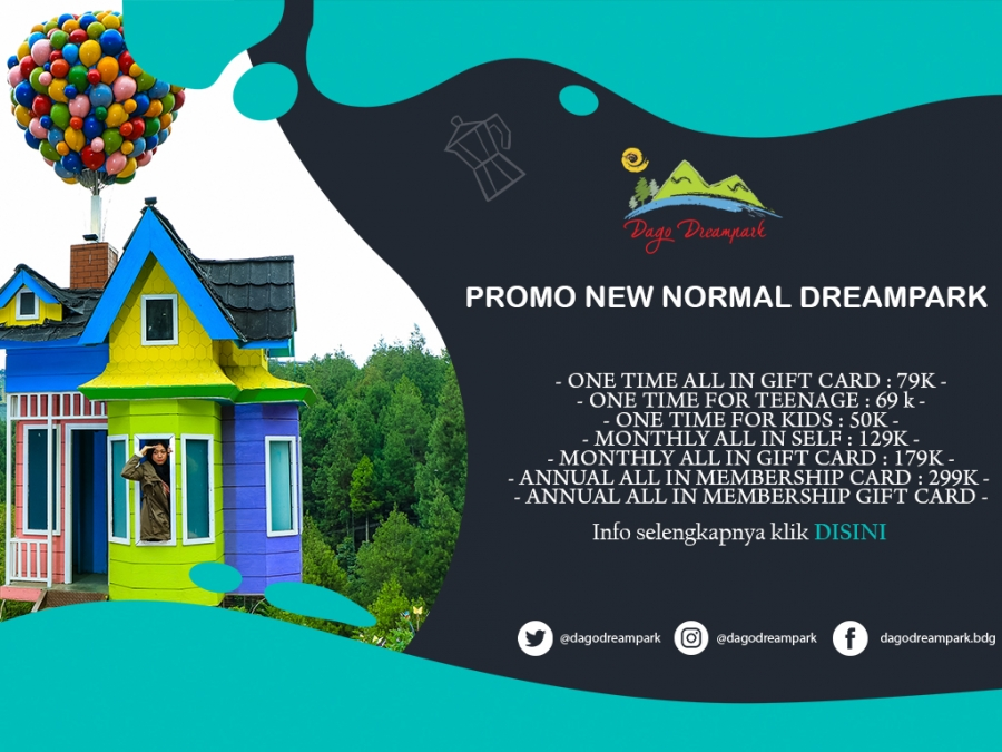 Promo New Normal Dago Dreampark